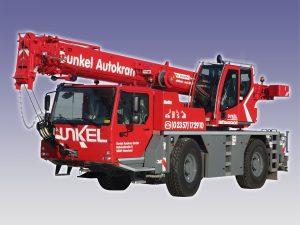 Dunkel Autokran -LIEBHERR LTM1030