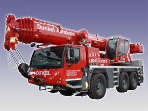 Dunkel Autokran -LIEBHERR LTM1060