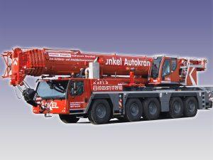 Dunkel Autokran -LIEBHERR LTM1160