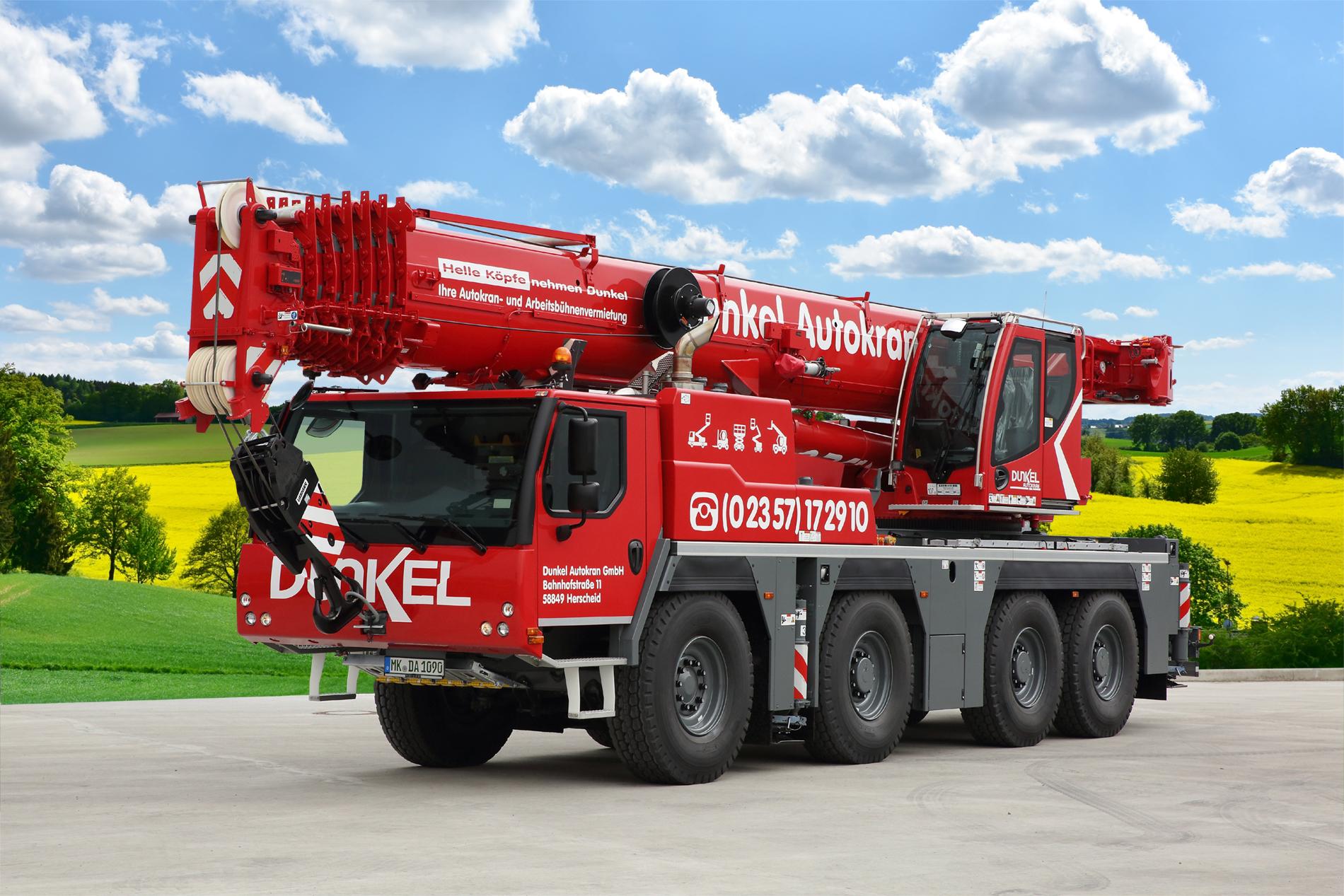 90 Tonnen Mobilkran LTM 1090-4.2